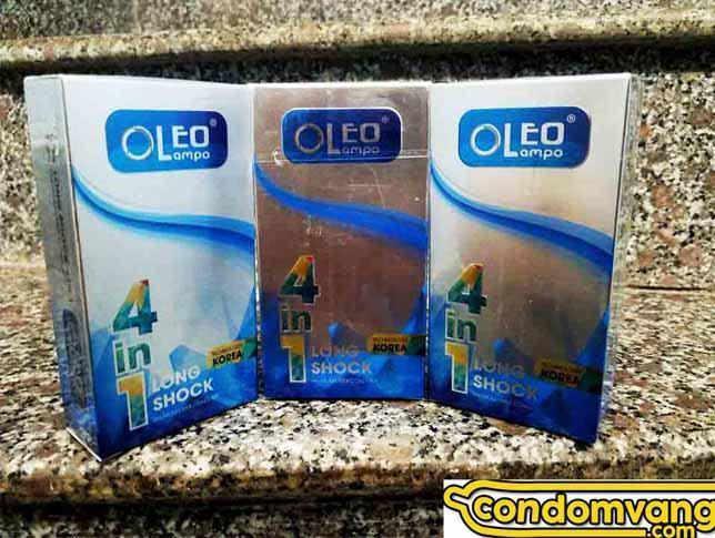 bao cao su oleo 4in1 - Bao cao su Oleo Lampo 4in1 Cooling Korea Hải Phòng